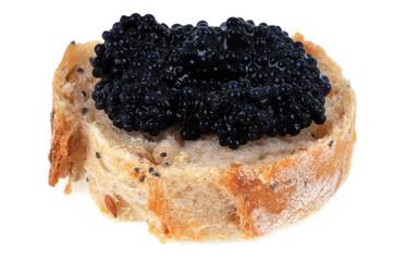 Caviar sur tartine