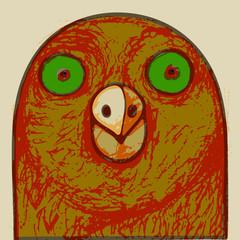 Bird's head.