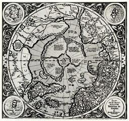 Septentrionalium Terrarum descriptio (Mercator, 1595)