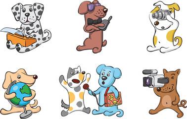 cartoon dogs characters