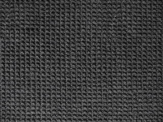 grunge black textile, fabric background and texture