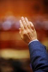Hand vote