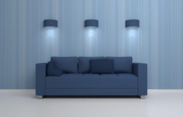 Modern interior composition