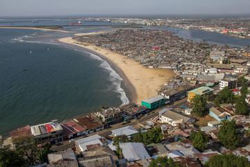 Armenviertel in der Hauptstadt von Liberia