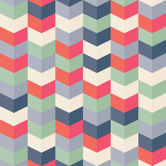 A retro style repeating wallpaper pattern