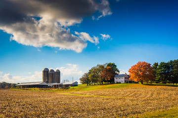 Farm in rural York County, Pennsylvania.