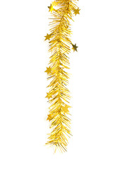 gold ribbon for christmas decorate