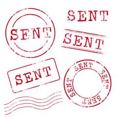 Sent Stamp Set