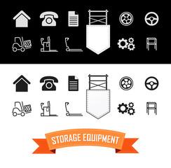 Merchandise Vector Icons Set