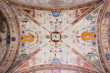 Grotesque Fresco Palazzo Vecchio - Florence