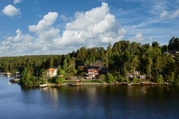 Archipelago Near Stockholm Sweden