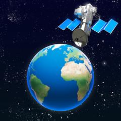 Satellite pianeta terra