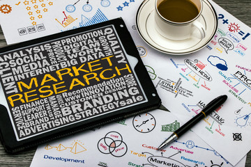 market research concept