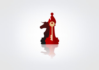 Logo Cesh icon key Circlre Symbol Lobster Horse