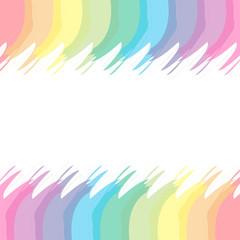背景素材壁紙,七色,虹色,虹,文字スペース,ネームカード,プライスカード,コピースペース,テキストスペース,ホワイトスペース