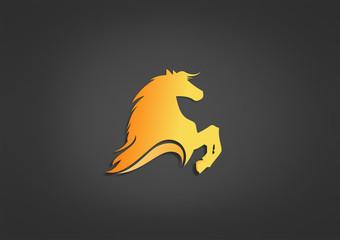 Logo Energi Fire business Horse Symbol Icon Power chess