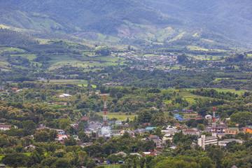 Pai city in thailand
