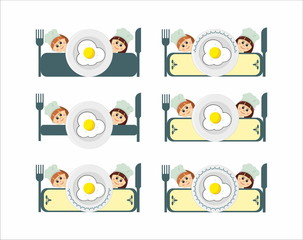 breakfast restaurant  logo menu