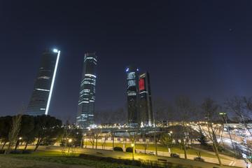 Rascacielos de la Castellana en Madrid