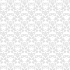 decorative seamless pattern silver