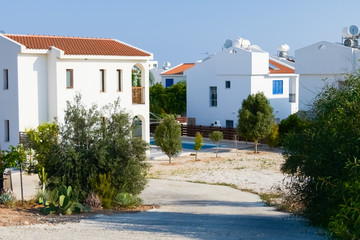 house on the island of Cyprus