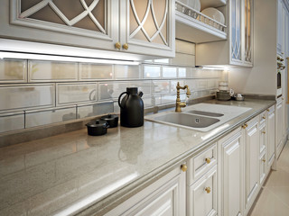 kitchen in classic style.