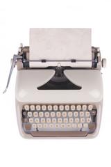 Old Deutsch Schreibmaschine mit altem Papier