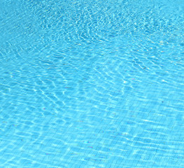 photo blue water in the pool