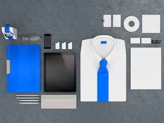 Mockup business template