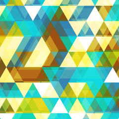 Beautiful Triangle Vector Background