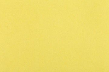 Wall Mural - background from sheet of color yellow fiber paper