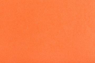 Wall Mural - background from sheet of dark orange fiber paper