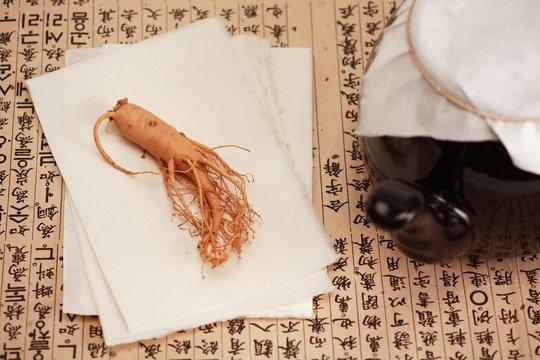 한국 전통 한약 재료
