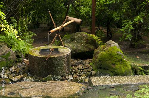Japanese Water Bamboo Fountain