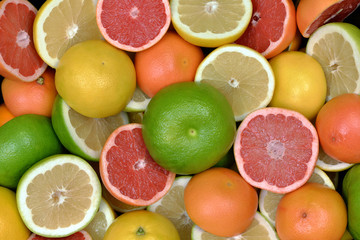 Wall Mural - Owoce cytrusowe 6