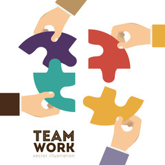 Teamwork design,vector illustration.