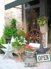 Antique Shop Store Front