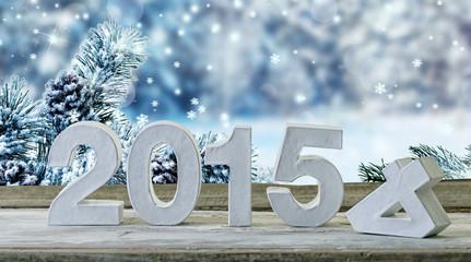 silvester karte neujahr