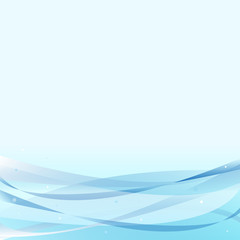 abstract wave line vector background