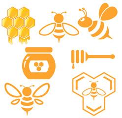 Bee and Honey set