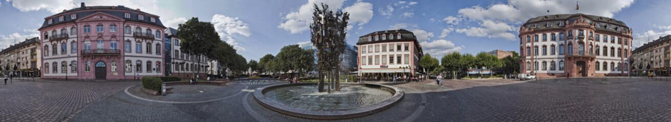 Schillerpaltz Mainz Panorama 360 Grad