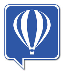 Logo montgolfière.