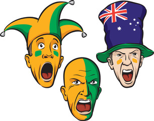 football fans from Australia