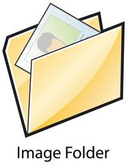 Folder with photo