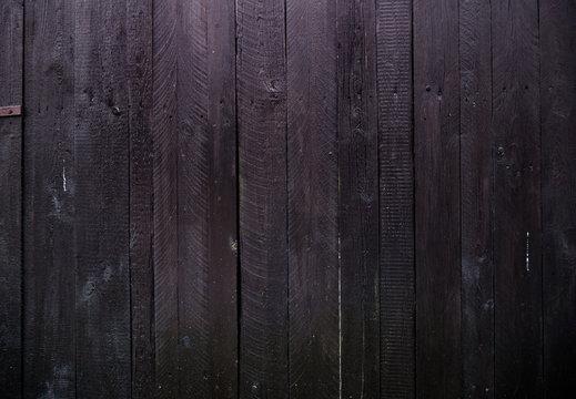 Dunkleholzwand - Fotowand