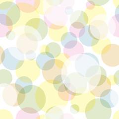 seamless pattern colorful circle