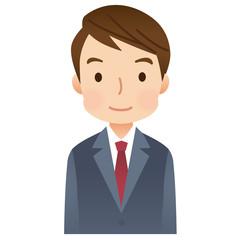 スーツを着た男性 ビジネスマン