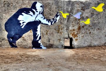 Graffiti liberté