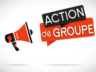 mégaphone : action de groupe