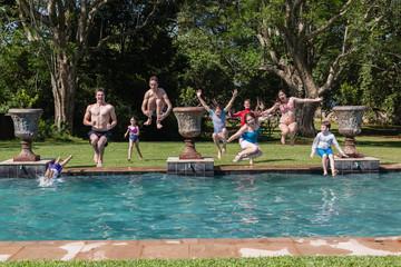 Boys Girls Jumping Pool